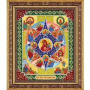 """Набор для вышивания бисером Паутинка """"Пресвятая Богородица Неопалимая Купина"""""""