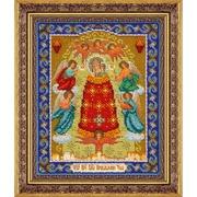 """Набор для вышивания бисером Паутинка """"Пресвятая Богородица Прибавление Ума"""""""