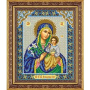 """Набор для вышивания бисером Паутинка """"Пресвятая Богородица Неувядаемый Цвет"""""""