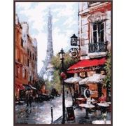 """Набор для вышивания крестом Палитра """"Парижское кафе"""""""
