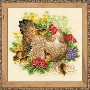 """Набор для вышивания крестом Риолис """"Курица"""""""