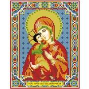 """Набор для выкладывания мозаики Алмазная живопись """"Икона Владимирская Богородица"""""""