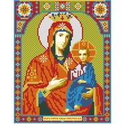 """Набор для выкладывания мозаики Алмазная живопись """"Икона Иверская Богородица"""""""