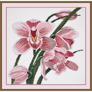 """Набор для вышивания крестом Овен """"Зов орхидеи"""""""