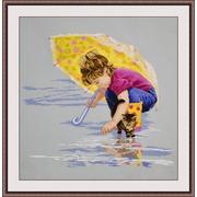 """Набор для вышивания гладью Овен """"Солнечный зонт"""""""