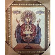 """Гобелен Вышиваю.ру """"Икона Пресвятой Богородицы Неупиваемая чаша (Мария)"""""""