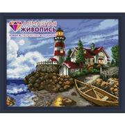 """Набор для выкладывания мозаики Алмазная живопись """"Огни маяка"""""""