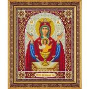 """Набор для вышивания бисером Паутинка """"Пресвятая Богородица Неупиваемая Чаша"""""""