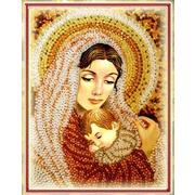 """Набор для вышивания хрустальными бусинами Образа в каменьях """"Дева Мария"""""""