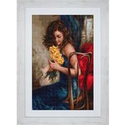"""Набор для вышивания крестом Luca-S """"Желтые розы"""""""