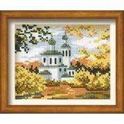 """Набор для вышивания крестом Риолис """"Осень в деревне"""""""
