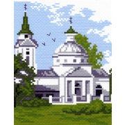 """Канва/ткань с нанесенным рисунком Матрёнин посад """"Собор"""""""