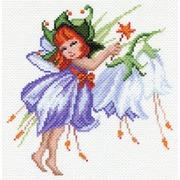 """Канва/ткань с нанесенным рисунком Матрёнин посад """"Фея колокольчик"""""""