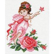 "Канва/ткань с нанесенным рисунком Матрёнин посад ""Фея роз"""