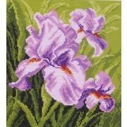 """Канва/ткань с нанесенным рисунком Матрёнин посад """"Фиолетовое настроение"""""""