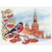 "Канва/ткань с нанесенным рисунком Матрёнин посад ""Московская зима"""