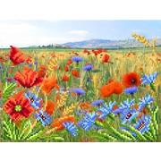 """Канва/ткань с нанесенным рисунком Матрёнин посад """"Полевые цветы"""""""