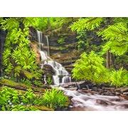 """Канва/ткань с нанесенным рисунком Матрёнин посад """"Водопад в лесу"""""""