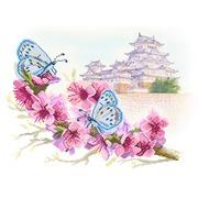 """Канва/ткань с нанесенным рисунком Матрёнин посад """"Восточная весна"""""""