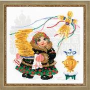 """Набор для вышивания крестом Риолис """"Масленица. Блины"""""""