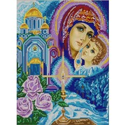 """Канва/ткань с нанесенным рисунком Конёк """"Богородица"""""""