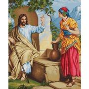 "Гобелен Luca-S ""Иисус и самаритянка"""