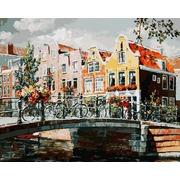 """Набор для раскрашивания Белоснежка """"Амстердам. Мост через канал"""""""