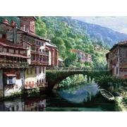 """Набор для раскрашивания Белоснежка """"Древний мост через Нив"""""""
