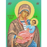 """Канва/ткань с нанесенным рисунком Вертоградъ """"Икона Пресвятой Богородицы Утоли моя печали"""""""
