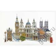 """Набор для вышивания крестом Thea Gouverneur """"Лондон"""""""