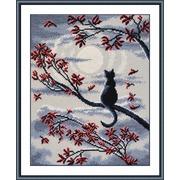 """Набор для вышивания крестом Овен """"Лунный кот"""""""