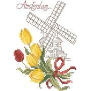 Набор для вышивания крестом Матрёнин посад Амстердам