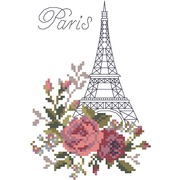 """Набор для вышивания крестом Матрёнин посад """"Париж"""""""