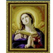 """Набор для вышивания крестом Kustom Krafts Inc. """"Святая Дева во славе"""""""