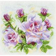 """Канва/ткань с нанесенным рисунком Матрёнин посад """"Розы"""""""