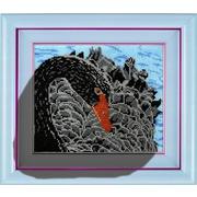 """Набор для вышивания бисером Вышиваем бисером """"Черный лебедь"""""""