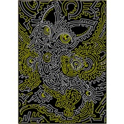 """Канва/ткань с нанесенным рисунком Вышиваем бисером """"Принт для вышивки бисером №55"""""""