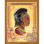 """Набор для вышивания крестом Риолис """"Африканская принцесса"""""""