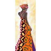 "Канва/ткань с нанесенным рисунком Матрёнин посад ""Уганда"""