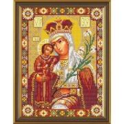 """Набор для вышивания бисером Nova sloboda """"Богородица «Неувядаемый Цвет»"""""""