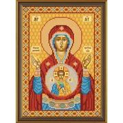 """Набор для вышивания бисером Nova sloboda """"Богородица «Знамение»"""""""
