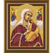 """Набор для вышивания бисером Nova sloboda """"Богородица «Страстная»"""""""