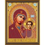 """Набор для вышивания бисером Nova sloboda """"Богородица Казанская"""""""