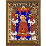"""Набор для вышивания бисером Nova sloboda """"Богородица «Прибавление ума»"""""""