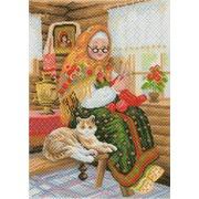 """Канва/ткань с нанесенным рисунком <strong>посмотреть</strong> Матрёнин посад """"Бабушкина радость"""""""