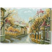 """Канва/ткань с нанесенным рисунком Матрёнин посад """"Московские улочки. Замоскворечье"""""""