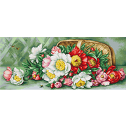 """Гобелен Luca-S """"Цветы в корзине"""""""