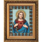 """Набор для вышивания бисером Чаривна Мить """"Пресвятое Сердце Иисуса"""""""