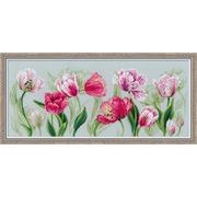 """Набор для вышивания крестом Риолис """"Весенние тюльпаны"""""""