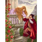 """Канва/ткань с нанесенным рисунком Матрёнин посад """"Ромео"""""""